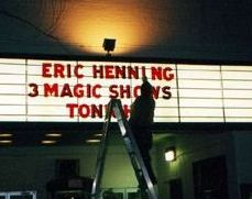 Eric Henning at Greenbelt NY Eve